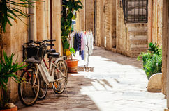 Street in Giovinazzo, Italy Stock Photos
