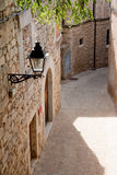 Street in Girona, Spain Stock Photo