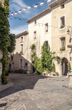 Street in Gordes Stock Photography