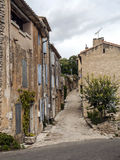 Street in Gordes Royalty Free Stock Images