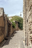 Street in Gordes Stock Images