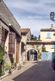 Street in Gordes Royalty Free Stock Photography