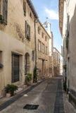 Street in Gordes Stock Photo