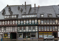Street in Goslar, Germany Royalty Free Stock Image