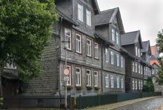 Street in Goslar, Germany Stock Image