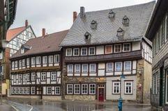Street in Goslar, Germany Stock Images