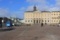 Street in Gothenburg, Sweden, Göteborg, Gustav adolfs torg Stock Photos