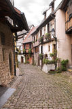 A street in Gothic town Royalty Free Stock Photography