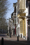 Street in Gouda Royalty Free Stock Image