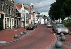 Street of Gouda Royalty Free Stock Photo