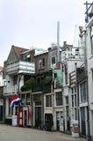 Street of Gouda Royalty Free Stock Image