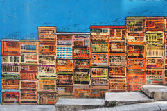 Street graffiti art Stock Photo