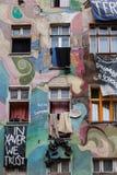street graffiti in Berlin Stock Photography