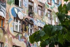 street graffiti in Berlin Stock Image