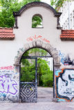 Street graffiti in Berlin Stock Photos