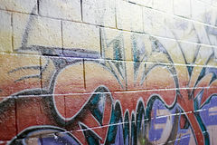 Street Graffiti Spraypaint Royalty Free Stock Photos
