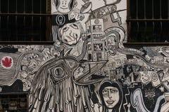 Street grafitti at Bogotá. Street grafitti at the city of Bogot Royalty Free Stock Photography