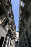 Street of Granada, Andalusia, Spain Royalty Free Stock Photos
