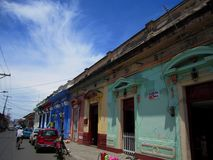 Street on Granada, Nicaragua Royalty Free Stock Photos