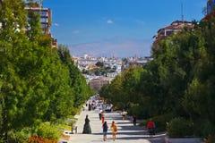 Street at Granada Spain Royalty Free Stock Image