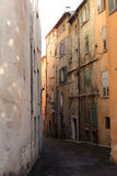 Street of Grasse, France Stock Photography