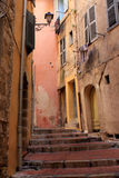 Street of Grasse, France Stock Photos