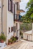 Street in Greece Stock Image