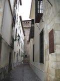 Street in Grenada. The old arab quarter of Grenada Spain Stock Image