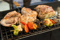 Street grill Royalty Free Stock Images