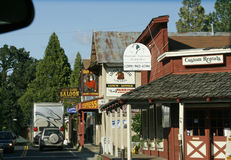 Street in Groveland. Royalty Free Stock Images