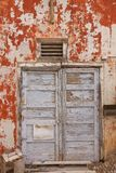 Street Grunge Door Royalty Free Stock Images