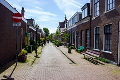 Street in Haag Stock Image