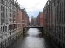 Street of Hamburg Royalty Free Stock Photos