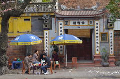 Street in Hanoi Royalty Free Stock Photography