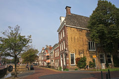 Street in Harlingen Royalty Free Stock Photos