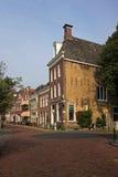 Street in Harlingen. Street in the Dutch town of Harlingen Stock Photos