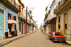 Street in Havana. Street in center of Havana, Cuba Royalty Free Stock Photography