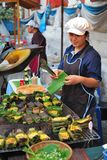 Street hawker in Thailand Royalty Free Stock Photo
