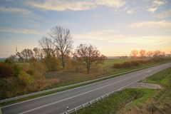 Street HDR Stock Image