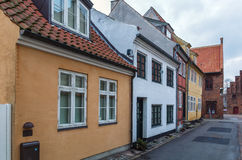 Street in  Helsingor, Denmark Stock Photos