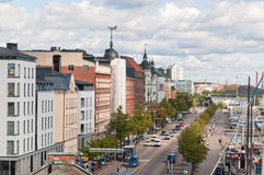 Street in Helsinki Royalty Free Stock Images