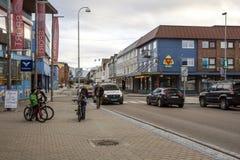 Street of Heninsbaerg Stock Images