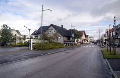 Street of Heninsbaerg Royalty Free Stock Photo
