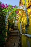 Street of Herceg Novi Royalty Free Stock Photography