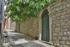 Street in Herceg Novi Stock Photo