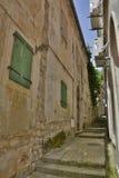Street in Herceg Novi Royalty Free Stock Photography