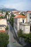 Street in Herceg Novi Royalty Free Stock Photo