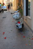 Street in Hersonissos Stock Photo