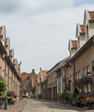 Street in Heusden royalty free stock images