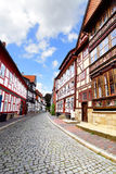 Street in Hildesheim Stock Photo